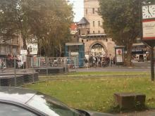 Aufzug- und Baustellenchaos auf dfem Chlodwigplatz