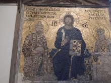Christus-Mosaik in der Haghia Sophia