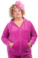 Freches Mundwerk mit pinkem Jogginganzug: Cindy aus Marzahn.