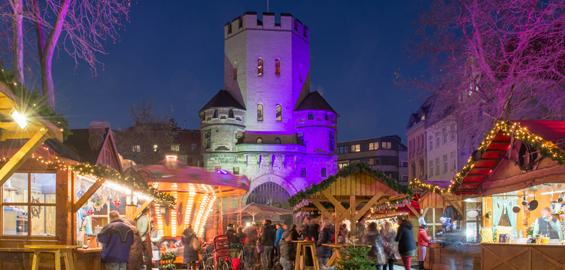Weihnachtsmarkt Köln Chlodwigplatz