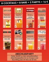 Bei der 13. Cocktailtour in Köln Cocktails und Clubs kennenlernen. (Foto: Cocktailtour)