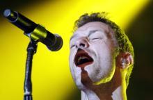 Sänger Chris Martin und seine Band lieferten ein erstklassiges Konzert ab. Foto: dapd.