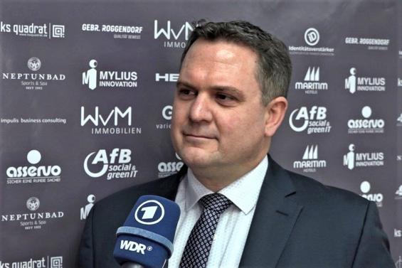 Turnierdirektor Oliver Mueller
