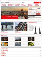 Ein Blick auf die Startseite von cologne.de