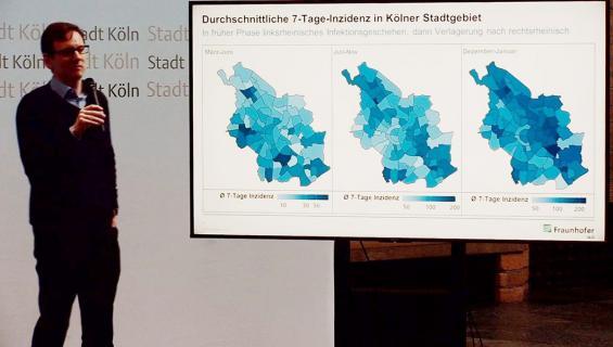 Analyse der Kölner Corona-Zahlen vorgestellt | koeln.de