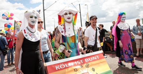 Bei der CSD-Parade 2016. Foto: Fotografie Joachim Rieger/A. Konrad