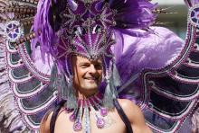 Schwuler beim CSD: Viel Toleranz als Ausdruck von Wirtschaftskraft? (Foto: ddp)