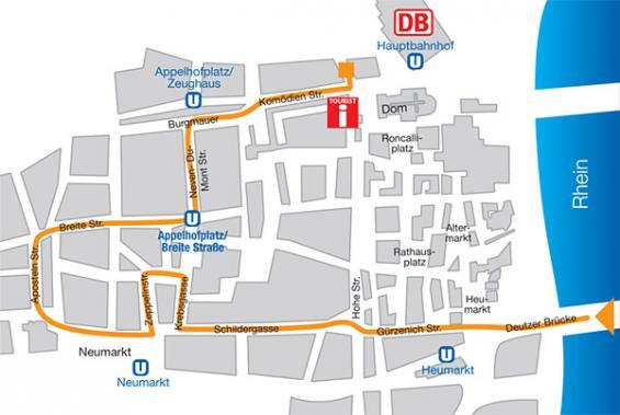 CSD 2010: die Paradestrecke. (Abbildung: Kölner Lesben- und Schwulentag e.V.)