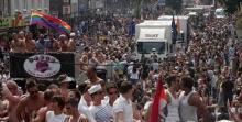 Braun statt bunt: Pro Köln wollte mit einem Paradewagen am CSD 2013 teilnehmen.