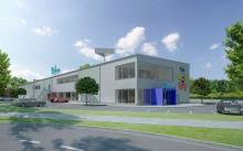 So soll sie einmal aussehen: Die neue Deiters-Zentrale in Frechen. (Copyright: Deiters)