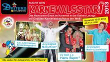 """DSDS op kölsch: """"Deiters sucht den Karnevalsstar 2013"""" (Flyer: Deiters)"""