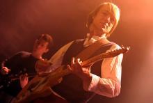 Jochen Distelmeyer: macht intellektuelle Musik für interessierte Zuhörer. (Foto: Helmut Löwe)