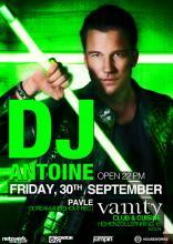 DJ Antoine ist am Freitag, den 30. September, im Vanity zu Gast.