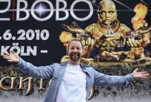 René Baumann alias DJ Bobo: Der Schweizer hält sich mit viel Sport fit. (Foto: Helmut Löwe)