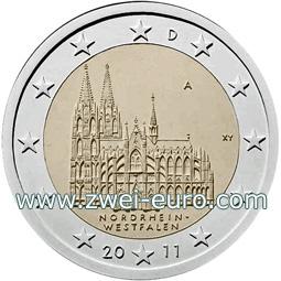 Kölner Dom Kommt Auf 2 Euro Münze Koelnde