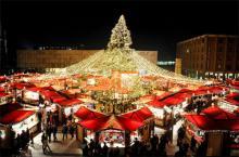 Platz 2 geht an den Weihnachtsmarkt am Dom. (Foto: Christopher Adolph)