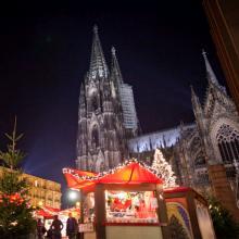 Der Weihnachtsmarkt am Dom ist vor allem bei Touristen beliebt.