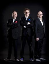 Die Sprecher der berühmten Detektive: Oliver Rohrbeck, Andreas Fröhlich und Jens Wawrczeck (v.li.n.re.)