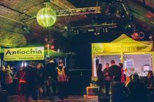 Happa-Happa-Hütten: Street-Food-Zelte im CBE Foto: Veranstalter
