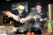 Kochprofis über die Schulter schauen und selbst zum Kochlöffel greifen, können die Besucher die eat&STYLE.
