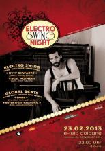 Die Electro Swing Party startet mit DJ Aviv ins Jahr 2013. (Foto: e-Feld)