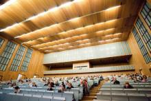 Blick in die Aula der Kölner Universität (Foto: Universität Köln)