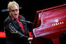 "Elton John: Geht mit seinem neuen Album ""The Union"" auf Tour. (Foto: ddp)"