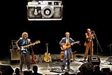 Live auf der Bühne: Ekki Maas, Markus Berges sowie Posaunist Henning Beckmann (v.l.n.r.).