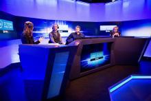Analyse wie beim Fußball: Moderatoren bewerten jedes Match. Foto: eslsports.com