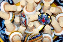 Dekorative Korken: Formschöne, funktionelle und hochwertige Küchenutensilien von Estella sollen Lust auf das Kochen machen (Foto: Sebastian Reichert)