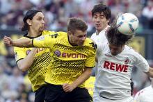 Erstligabegegnung zwischen 1. FC Köln und Borussia Dortmund am 27. Spieltag der Saison 2011/2012. Der FC ging zuhause 1:6 baden. (Foto: dapd)