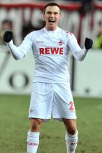 Da hatte Christian Clemens gut jubeln: die letzte Auswärtspartie beim 1. FC Kaiserslautern am 5. Februar 2012 gewann der 1. FC Köln mit 1:0. (Foto: dapd)