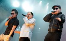 Fettes Brot Deutscher Hip-Hop im E-Werk (Bild: ddp)