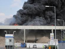 Keine Gesundheitsgefahr ging laut Angaben der Feuerwehr von der Rauchwolke aus. Foto: Feuerwehr Köln