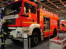 Tanklöschfahrzeug 24/50 der Berufsfeuerwehr Köln