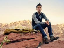 Brandon Flowers stellt in Köln sein Solo-Album vor.
