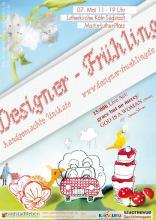 Am 7. Mai findet in der Lutherkirche die 5. Auflage des Designer-Frühlings statt. (Flyer: Nadine Preiß)