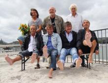 Trotz 41 Bühnenjahren in Höchstform Die Bläck Fööss (Foto: Christian Rentrop - Rheinwort.de)