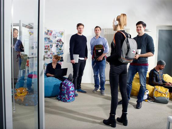 Gründerpreis-Gewinner: Das Kölner Unternehmen Fond of Bags. Foto: Bärbel Schmidt