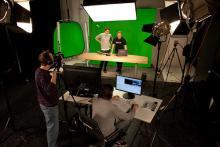 Das neu eingerichtete Studio in Köln (Foto: Pressefoto)