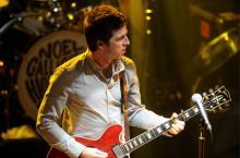 Gallagher - Eher zurückhaltend ohne seinen Bruder und Oasiskollegen Liam (Foto: Mark Keppler/ dapd)