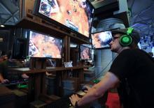 Szene auf der Gamescom (Foto: dapd)
