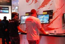 Dreidimensionales Gaming wird immer beliebter. (Foto: R. Gasper)