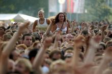 Endlich wieder ein Cityfestival am Ring (Archivfoto: ddp)