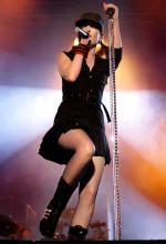 Frontfrau Shirley Manson Foto: dapd