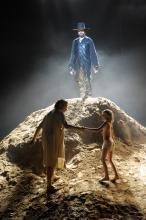 Rettung in letzter Sekunde: Gott verhindert die Opferung Isaaks Foto: Thomas Aurin