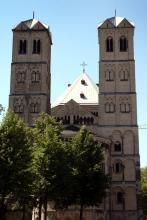 Die Türme wurden schon 1170 gebaut (Foto: Marie Neuhalfen)