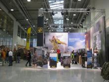Aussteller bei der Globewelt 2010 in den Messehallen Köln. (Foto: Matti Heilmann)