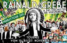 Rainald Grebe und das Orchester der Versöhnung kommen am 25. November in die Lanxess Arena.