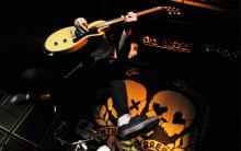 Billie Joe Armstrong verhängte mit Green Day den Ausnahmezustand im E-Werk (Archivbild: ddp)